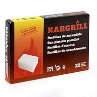 Kargrill Pastilles encès estalvi 32u