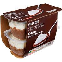 Eroski Copa chocolate 115g x 4