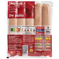 Eroski Salchichas pollo 200g