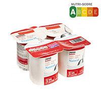 Eroski Basic Yogur natural 4x125g