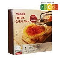 Eroski Crema catalana Mi Pueblo 155g
