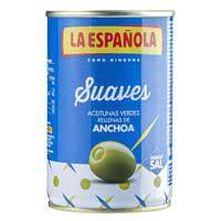 La Española Aceitunas rellenas suaves 130g