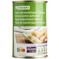 Eroski Talls espàrrecs llauna 250g