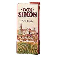 Don Simon Vino rosado de mesa brik 1l