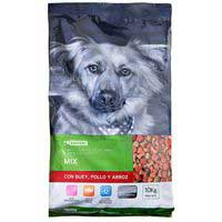Eroski Perro mix buey/pollo/ arroz 10kg