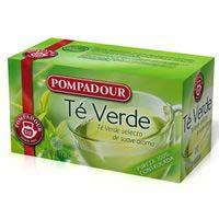 Pompadour Te verd 20 sobres