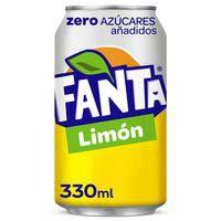 Fanta Zero limón lata 33cl