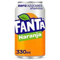 Fanta Zero naranja lata 33cl