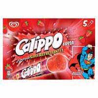 Calippo Maduixa gelat 5x105 ml