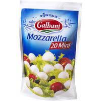 Galbani Mozzarella mini 20 bolitas 150g