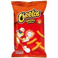 Cheetos Sticks Aperitivo horneado sabor queso y ketchup 96g
