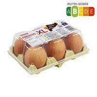Eroski Huevos rubios XL 1/2 docena