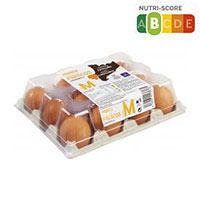 Eroski Basic Huevos rubios M docena