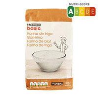 Eroski Basic Harina de trigo 1kg
