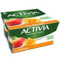 Activia Yogur con mango 4x125g