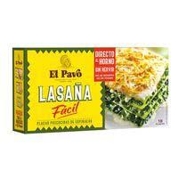 El Pavo Lasanya fàcil precuita amb espinacs 200g