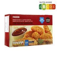Nuggets amb salsa EROSKI, caixa 300 g