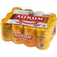 Aurum Cerveza lata 12x33cl