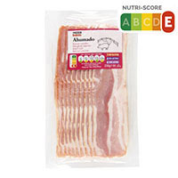 Eroski Basic Bacon ahumado 200g