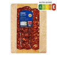 Eroski Chorizo ibérico lonchas 125g