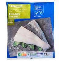 Eroski Filete de merluza con piel 540g