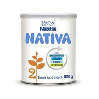 Llet de continuació NESTLÉ Nativa 2, llauna 800 g