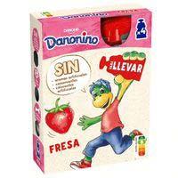 Danonino pouch de fresa Danone 4x70g