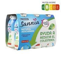Eroski Sannia Reductor colesterol natural ensucrat 6x100g