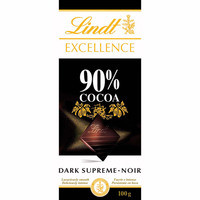 Lindt Chocolate Excellence cacao 90% 100g