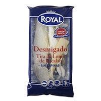 Royal Esmicolat tira de llom de bacallà 100g
