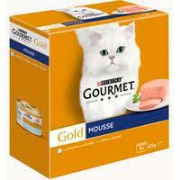 Gold Menjar per a gat peix d'oceà GOURMET 8x85g