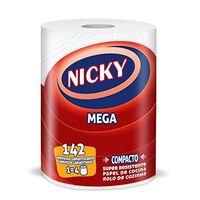 Nicky Papel de cocina mega 1 = 4 rollos