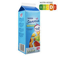 Eroski Sannia Nèctar de multifruites sense sucres afegits 2l