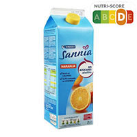 Eroski Sannia Nèctar de taronja sense sucres afegits 2l
