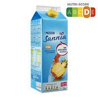 Eroski Sannia Nèctar de pinya sense sucres afegits 2l