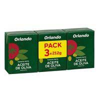 Orlando Tomate frito aceite oliva brik 3x210g