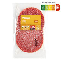 Eroski Basic Salami extra llenques 125g