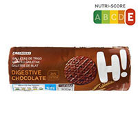 Eroski Galetes digestive xocolata 300g