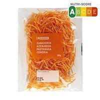 Eroski Zanahoria rallada 150g