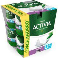 Iogurt bifidus natural desnatat ACTIVIA 8x120g