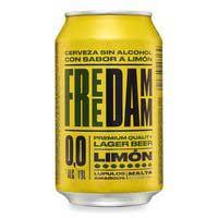 Free Damm Cerveza 0,0% limón lata 33cl