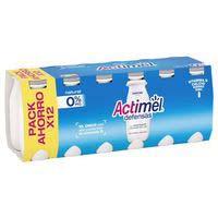 Actimel L-casei desnatat natural Danone 12x100ml