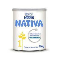 Llet d'iniciació NESTLÉ Nativa 1, llauna 800 g