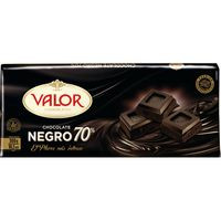 Valor Chocolate negro 70% cacao 300g