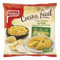 Patata-cebolla pochada FINDUS, bolsa 550 g