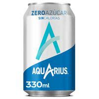 Aquarius Llimona sense sucre llauna 33cl