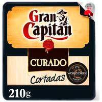 Gran Capitán Formatge curat talladetes 210g
