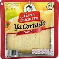Garcia Baquero Formatge curat Ya cortado 250g
