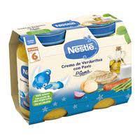 Nestlé PequeCena crema de verduretes amb gall dindi 2x200g
