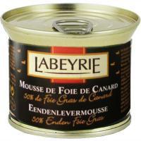 Labeyrie Mousse de pato 50 % Foie e 150g